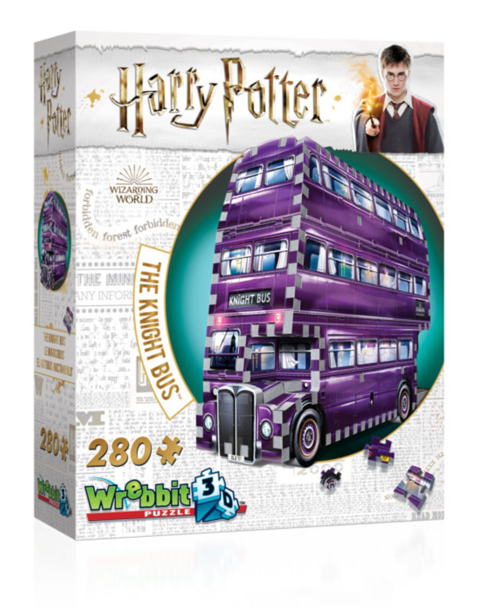 Wrebbit 280pc 3D Harry Potter Knight's Bus