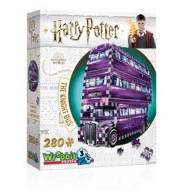 Wrebbit Harry Potter 3D Knight's Bus Puzzle