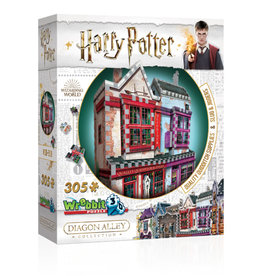Wrebbit 305pc 3D Harry Potter Quidditch Shop
