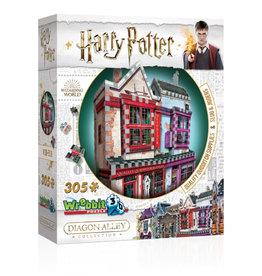Wrebbit Harry Potter 3D Quidditch Shop Puzzle