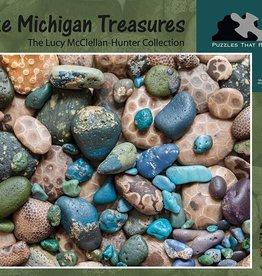 Puzzles That Rock 550pc Lake Michigan Treasures