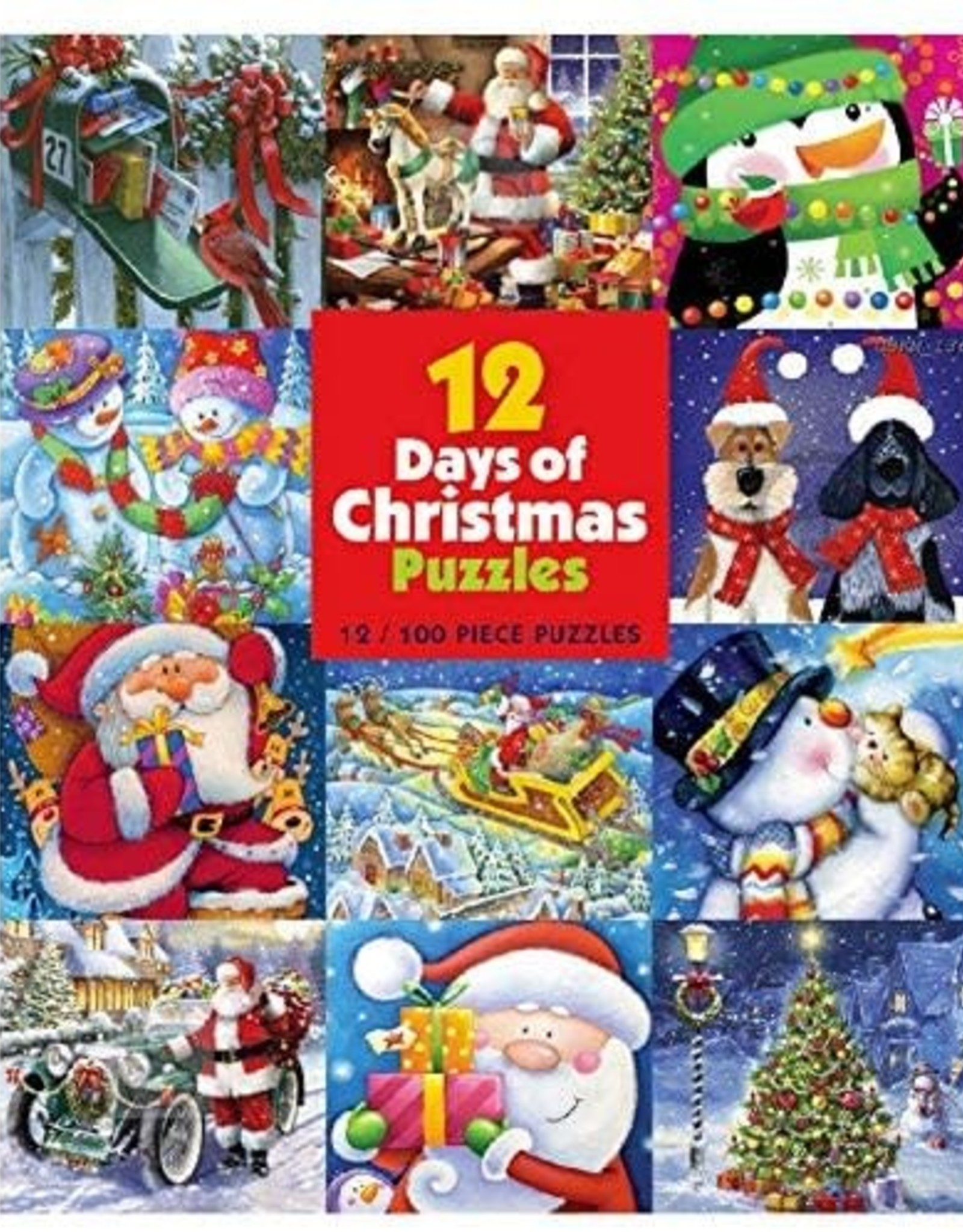 12 Days of Christmas 12in1 Puzzle Pack