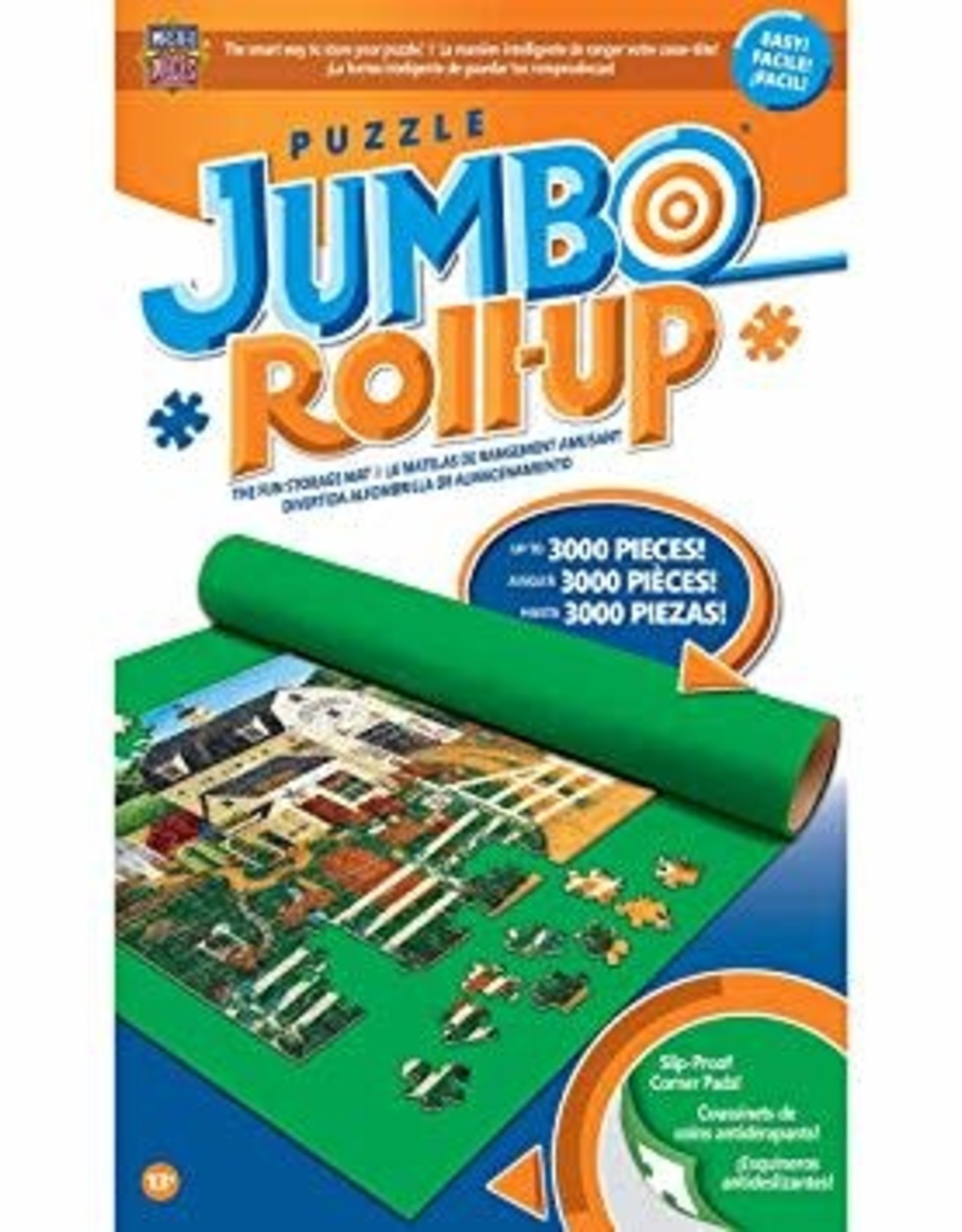 Master Pieces Jumbo Roll Up in Box