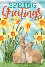 Carson C Daffodils & Bunnies