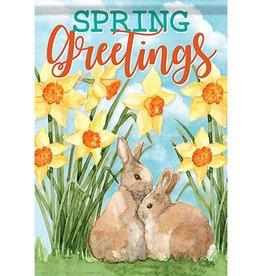 Carson C Daffodils & Bunnies GF