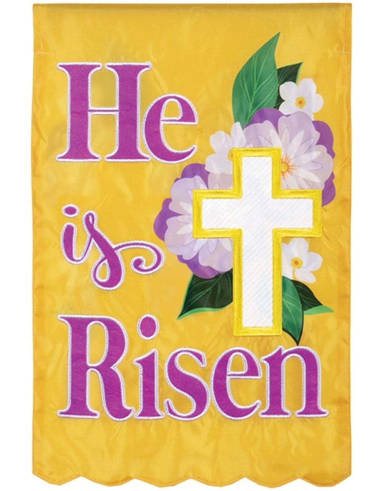 Carson C Easter Cross Floral GF