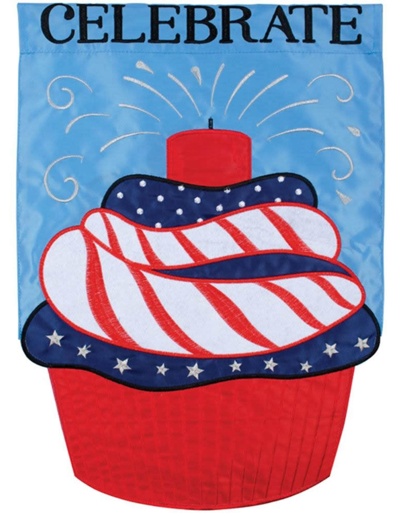 Carson C Firework Cupcake GF