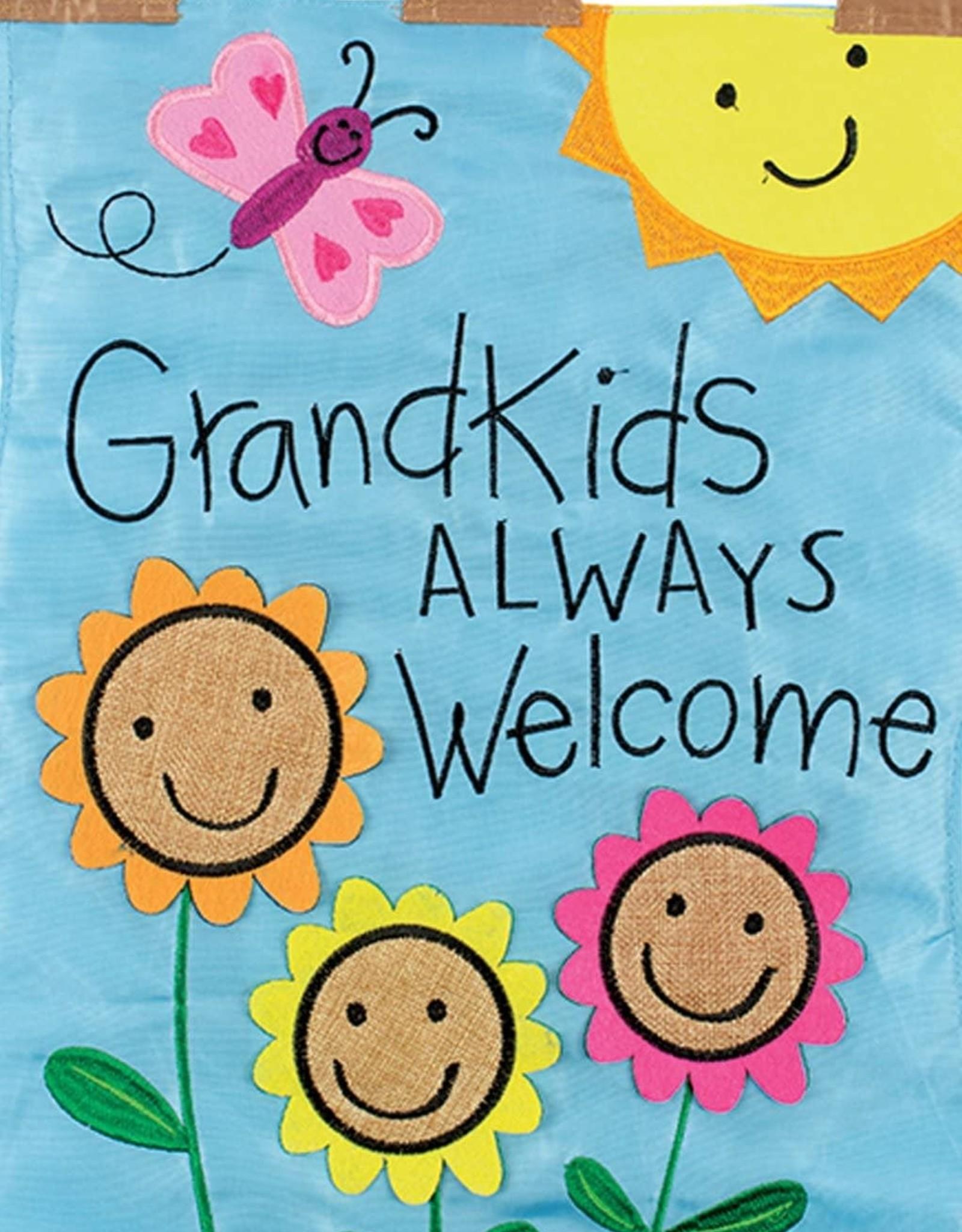 Carson C Grandkids Welcome GF