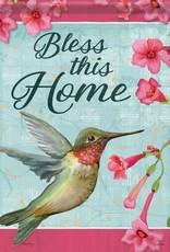 Carson C Hummingbird Blessing