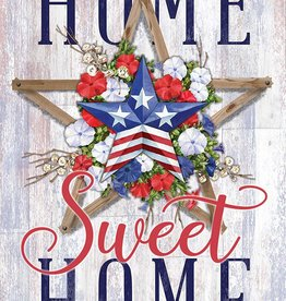 Carson C Patriotic Home Sweet Home