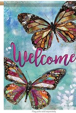 Carson C Postale Welcome Butterflies