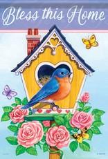 Carson C Rose Birdhouse