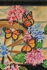 Carson C Wagon Wheel Butterflies