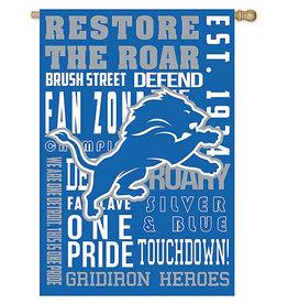 Evergreen EV Detroit Lions Fan Rules