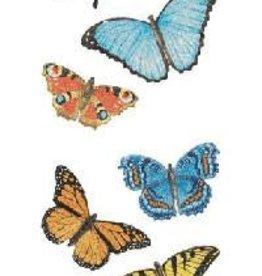 Mrs. Grossman's Sticker Strip Butterfly Sparkle
