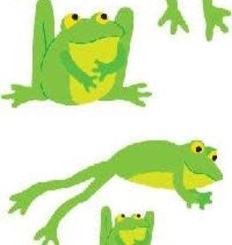 Mrs. Grossman's Sticker Strip Playful Frogs