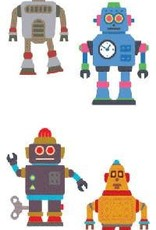 Mrs. Grossman's Sticker Strip Robots