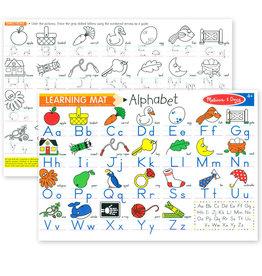 Melissa & Doug MD Learning Mat Alphabet