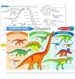 Melissa & Doug MD Learning Mat Dinosaurs