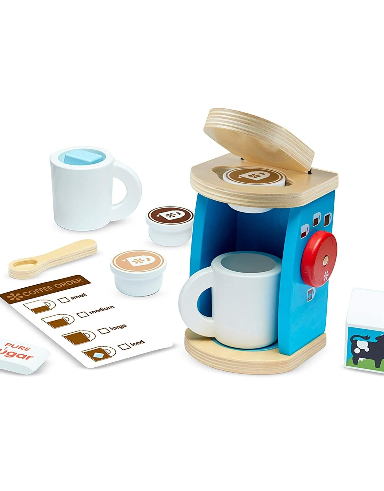 Melissa & Doug MD Coffee Set Brew & Serve