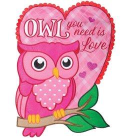 Carson C Owl You Need is Love GF