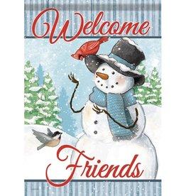 Carson C Snowman & Friends GF