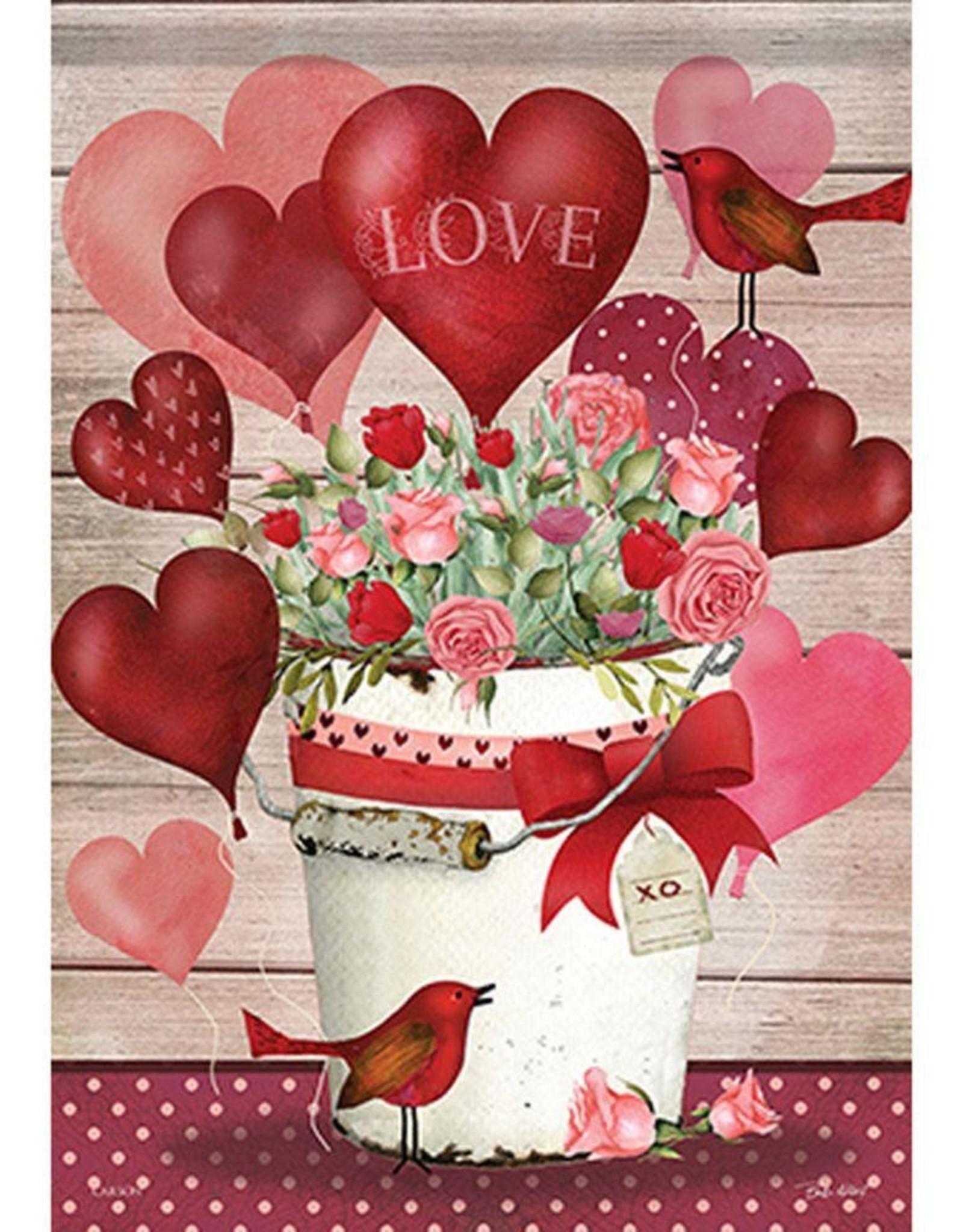 Carson C Valentine Bucket