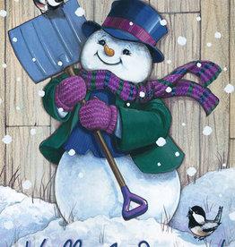 Carson C Winter Snowman Shovel GF