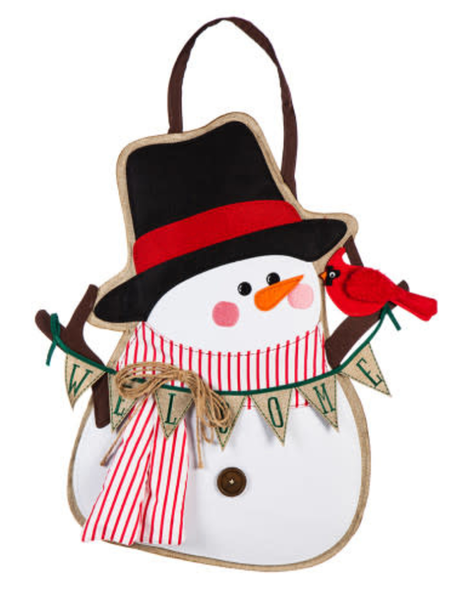 Evergreen EV Portly Snowman DD