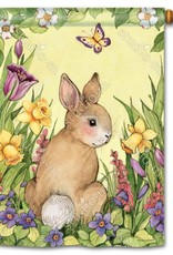 Studio M Springtime Bunny House Flag