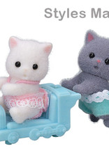 Calico Critters CC Persian Cat Twins