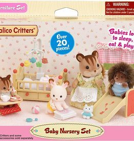 Calico Critters CC Baby Nursery Set
