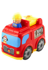 Kidoozie Press 'n Zoom Fire Engine