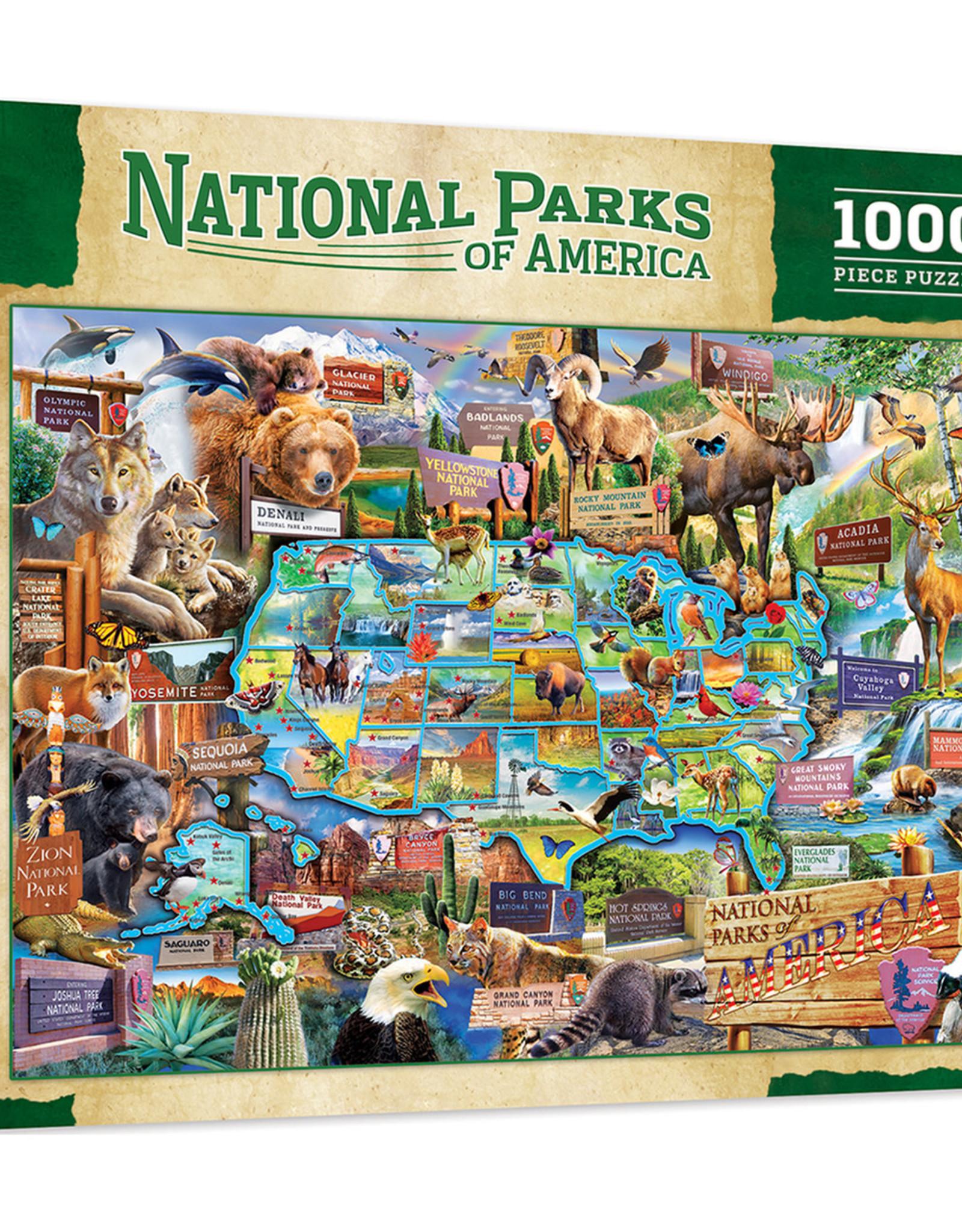 Master Pieces 1000pc National Parks  Puzzle
