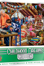 Master Pieces 1000pc Childhood Dreams - Playtime in the Attic
