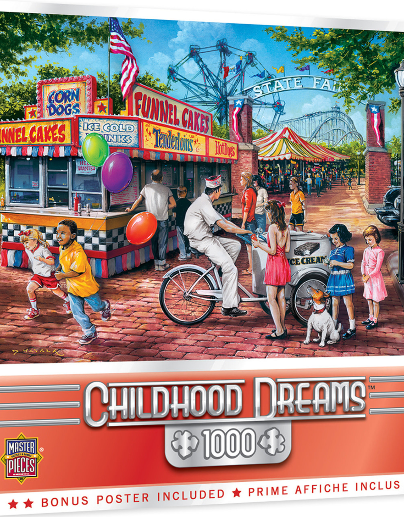 Master Pieces 1000pc Childhood Dreams - Summer Carnival Puzzle