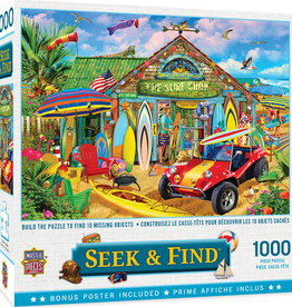 Master Pieces 1000pc Seek & Find - Beach Time Fun Puzzle