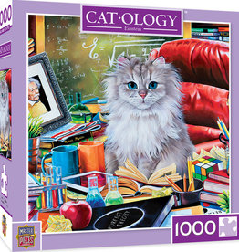 Master Pieces 1000pc Catology - Einstein Puzzle
