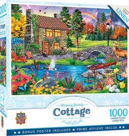 Master Pieces 1000pc Retreats - Stoney Brook Retreat Puzzle
