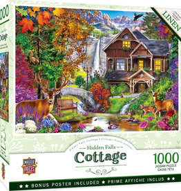 Master Pieces 1000pc Hidden Falls Retreat