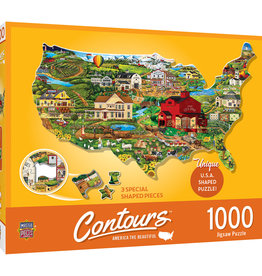 Master Pieces 1000pc Shaped United States