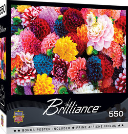 Master Pieces 550pc Beautiful Blooms