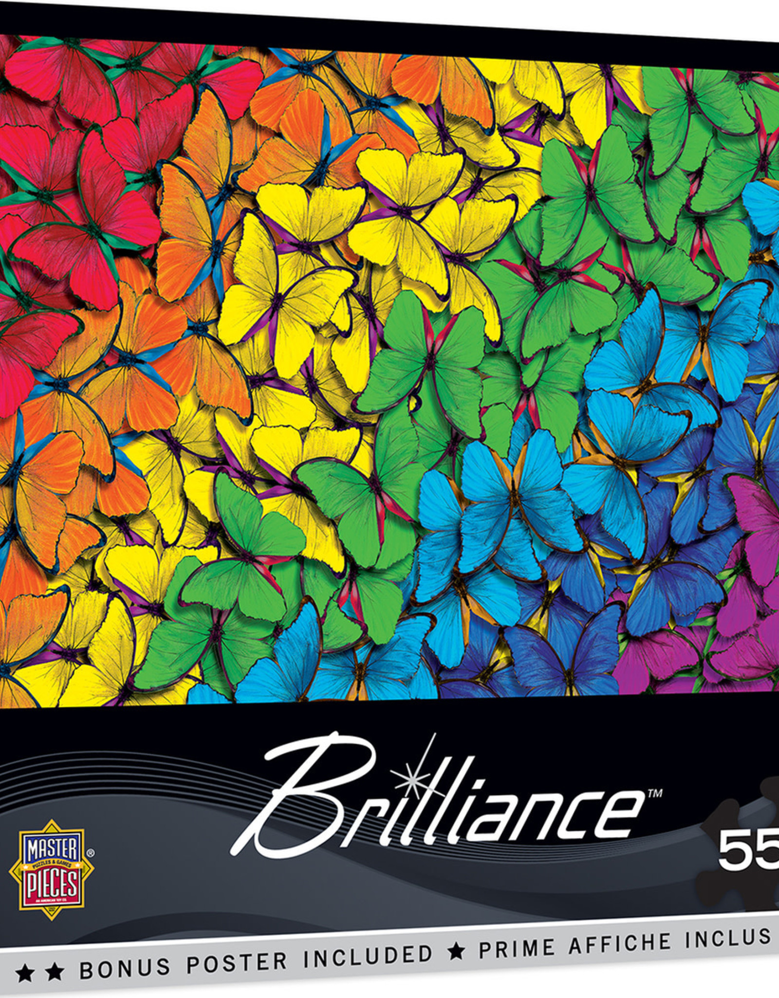Master Pieces 550pc Fluttering Rainbow