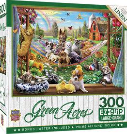 Master Pieces 300pc EZ Grip Green Acres - Afternoon Siesta