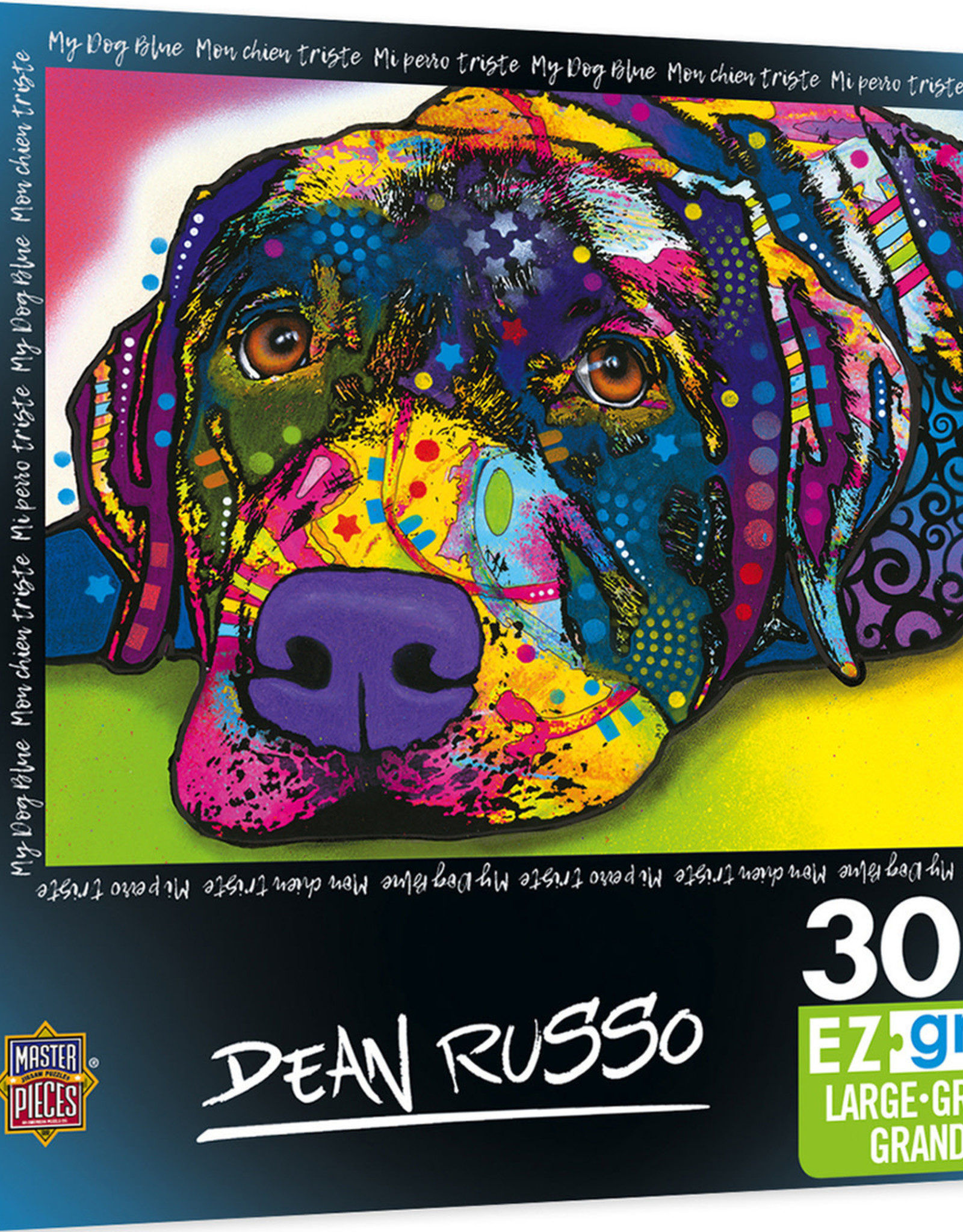 Master Pieces 300pc Dean Russo - My Dog Blue EzGrip Puzzle