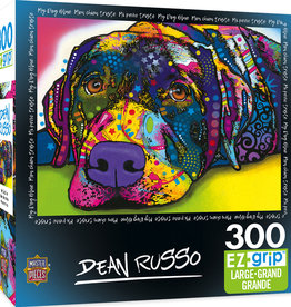 Master Pieces 300pc Dean Russo - My Dog Blue EzGrip Puzzle