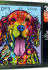 Master Pieces 300pc EZ Grip Dean Russo - Dog Is Love