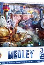 Master Pieces 300pc Medley - Magical Journey EzGrip Puzzle