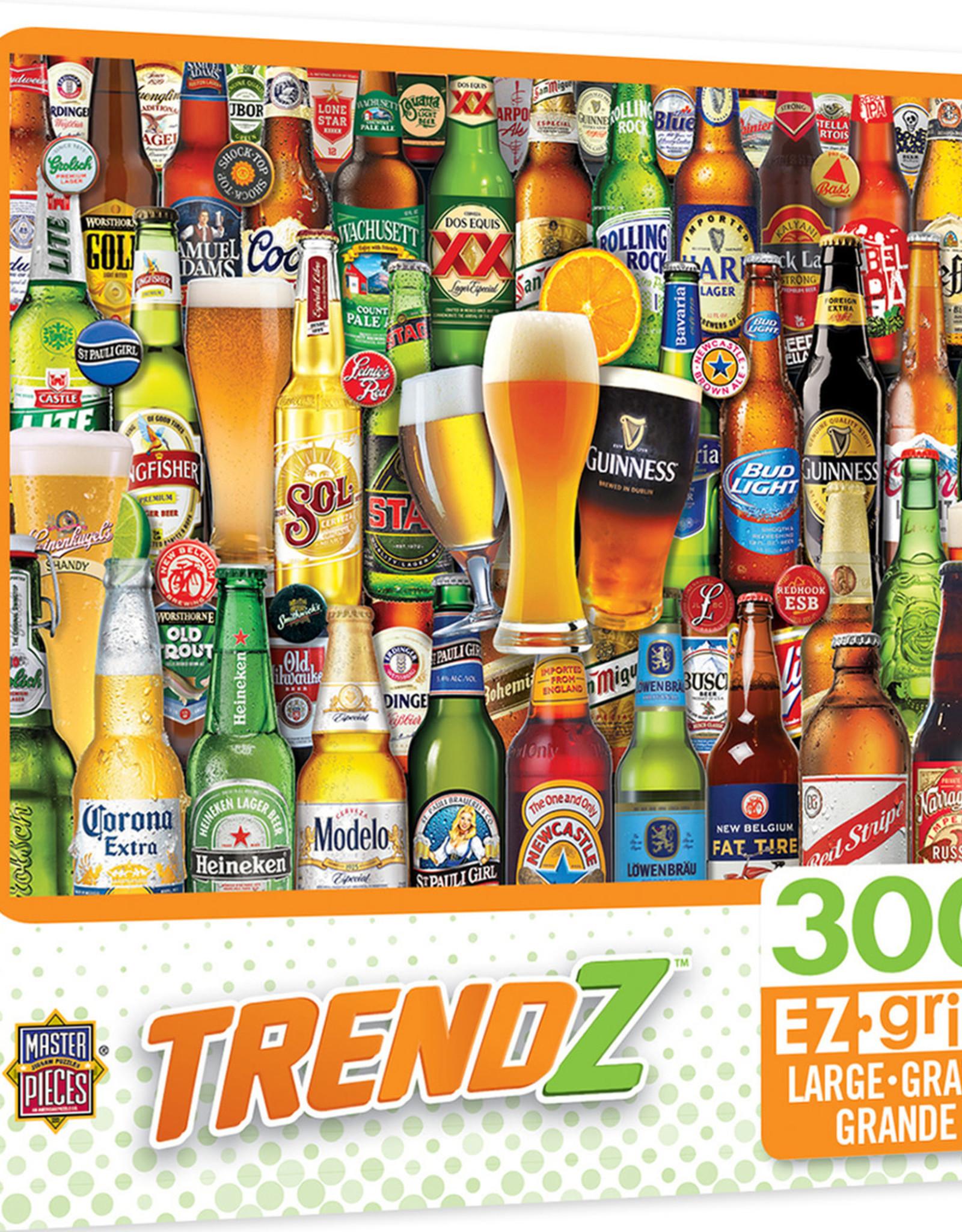 Master Pieces 300pc Trendz - Bottoms Up EzGrip Puzzle