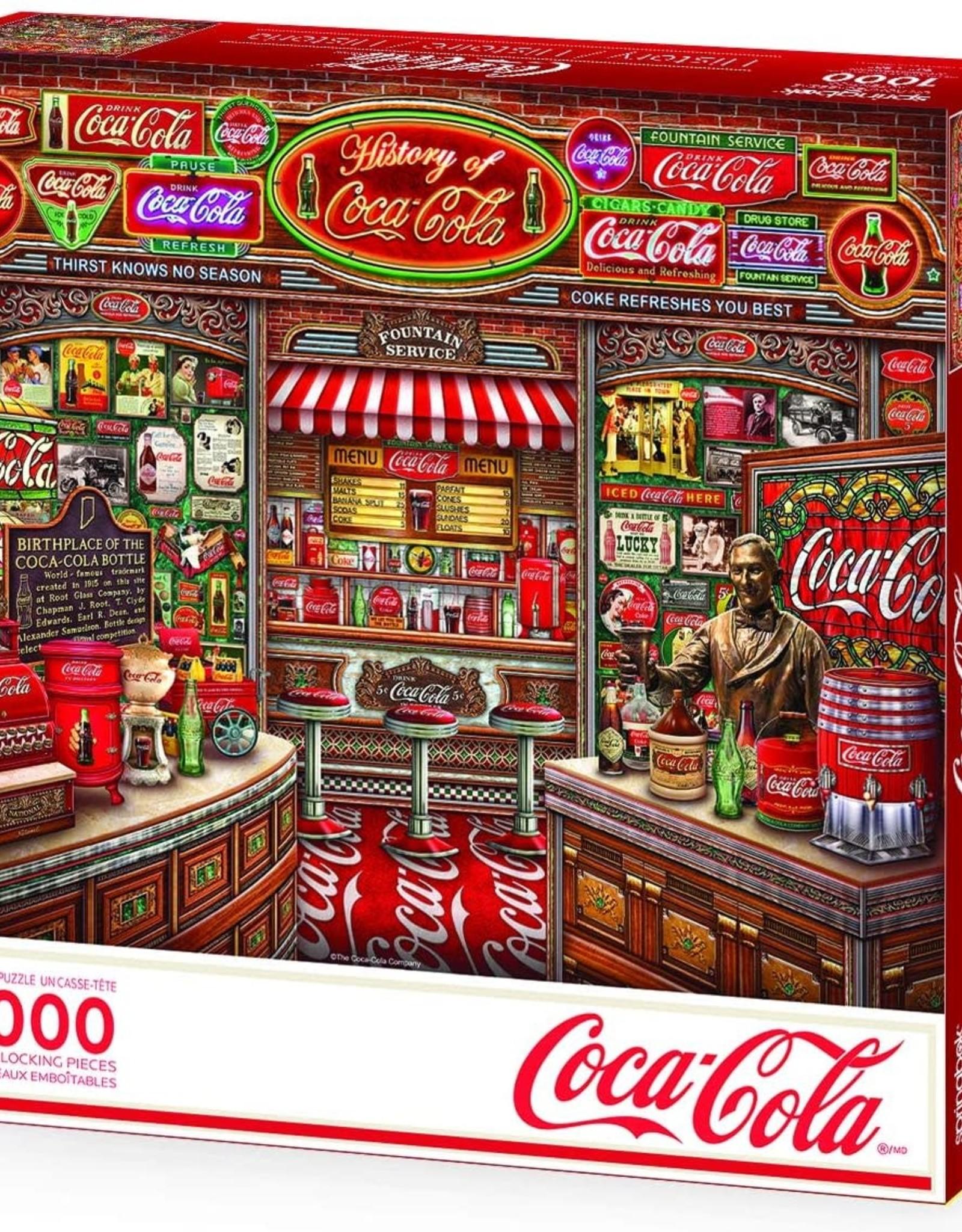 Springbok 1000pc Coca-Cola History